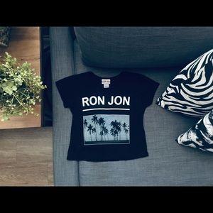 Ron Jon black tee